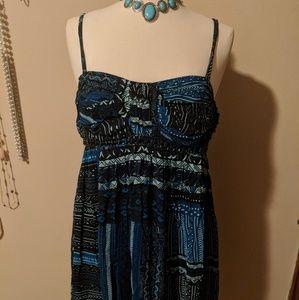Dresses & Skirts - Eva Blue Dress Size 14